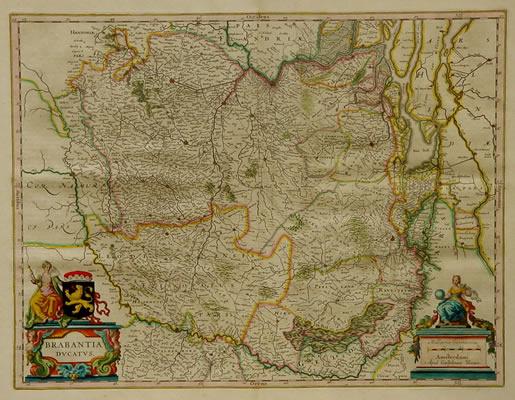 Blaeu Hertogdom Brabant