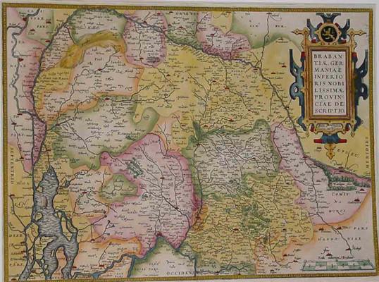 Ortelius Brabantiae