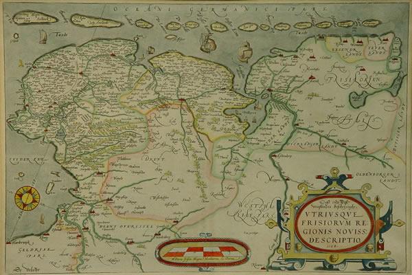 Ortelius Oost- en W.Friesland
