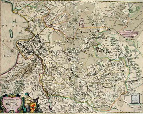 Claes Jan Visscher Transisalania Provincia