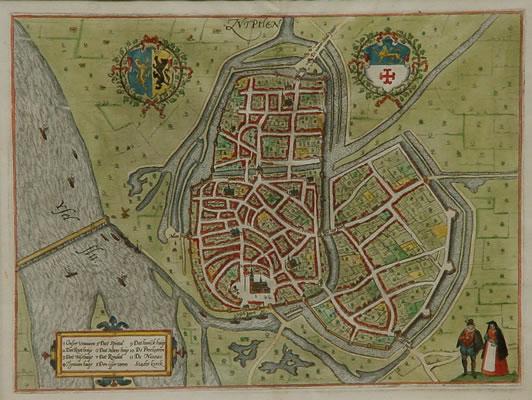 Guicciardini plattegrond Zutphen