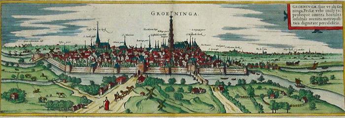 Braun en Hogenberg Groningen