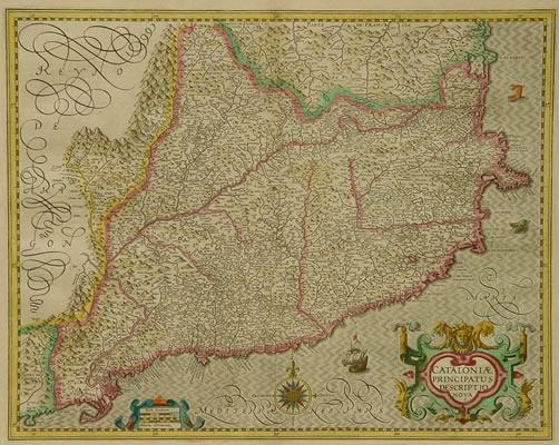 Mercator/Hondius Catalonia